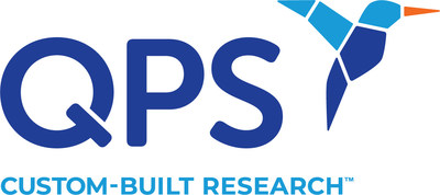 The new QPS logo incorporates a hummingbird icon, which embodies the key attributes of nimble, agile, flexible and speedy. The tag line 'Custom-Built Research' is ideal to support the company's rebranding efforts as it represents the broad set of services that QPS delivers to clients globally.