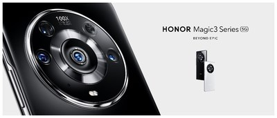 The newly launched HONOR Magic3 Series features HONOR's latest innovations.