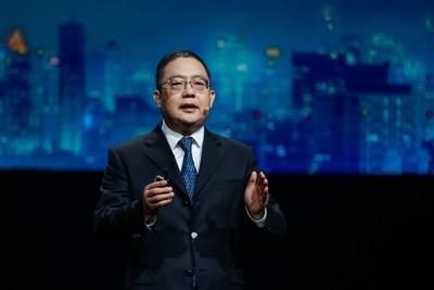 Mr. Peng Zhongyang, Huawei's Board Member, President of the Enterprise Business Group