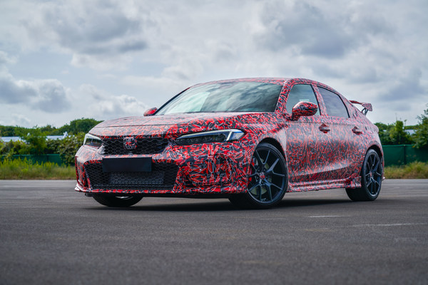 Development of the best performing Honda Civic Type R ever continues. The all-new Civic Type R will be introduced in 2022. #HondaCivic #TypeR